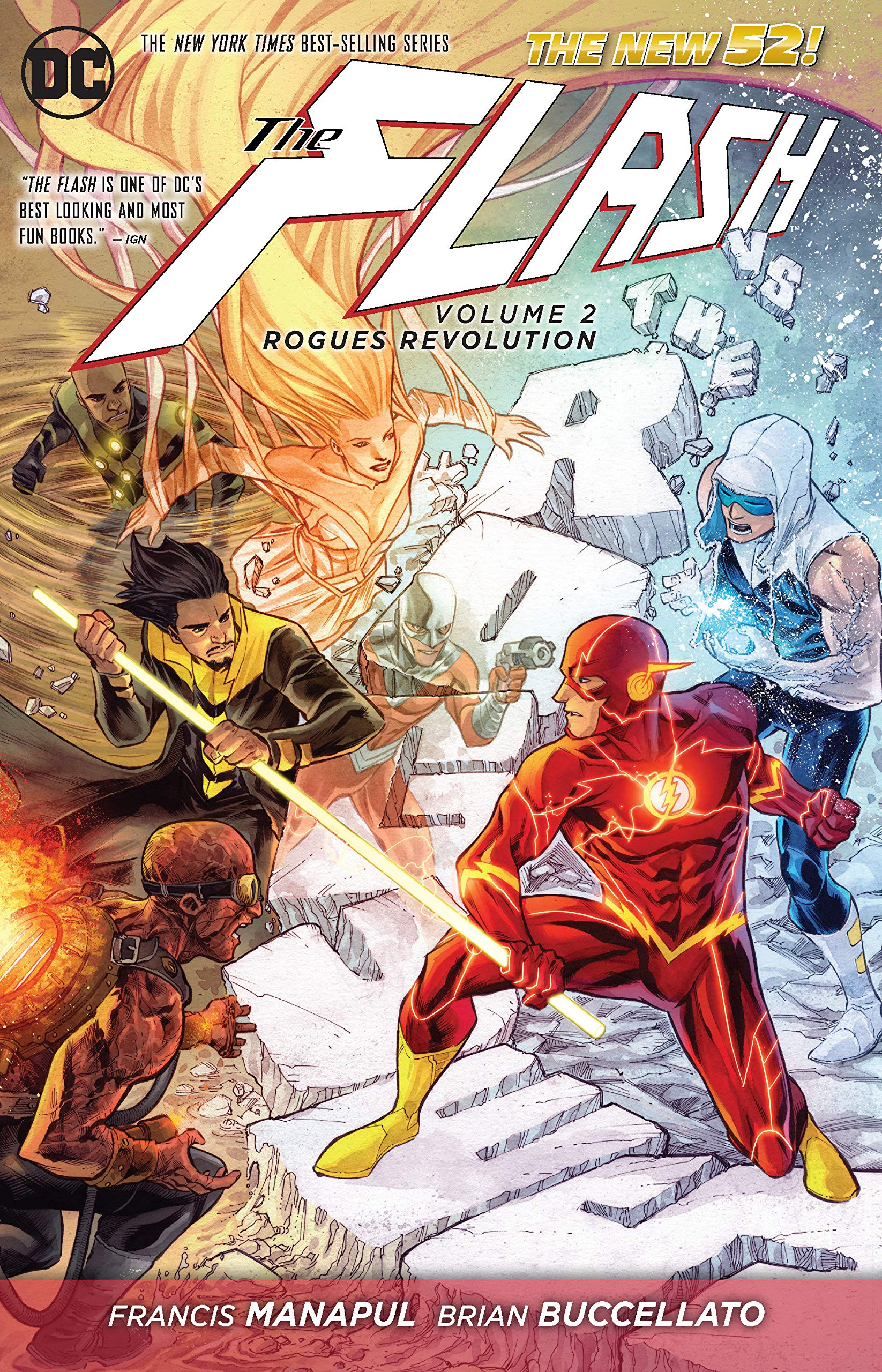 Flash: Volume 2: Rogues Revolution HC - Used