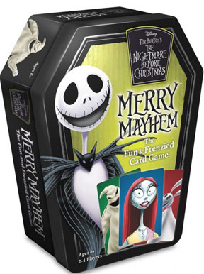Nightmare Before Christmas Merry Mayhem Card Game