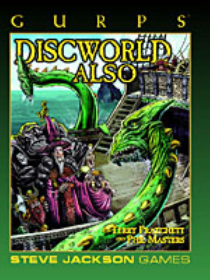 Gurps 3rd ed: Discworld Also - Used