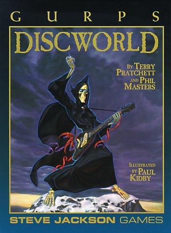 Gurps 3rd ed: Discworld HC- Used