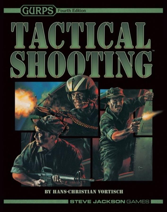 Gurps 4th ed: Tactical Shooting - Used