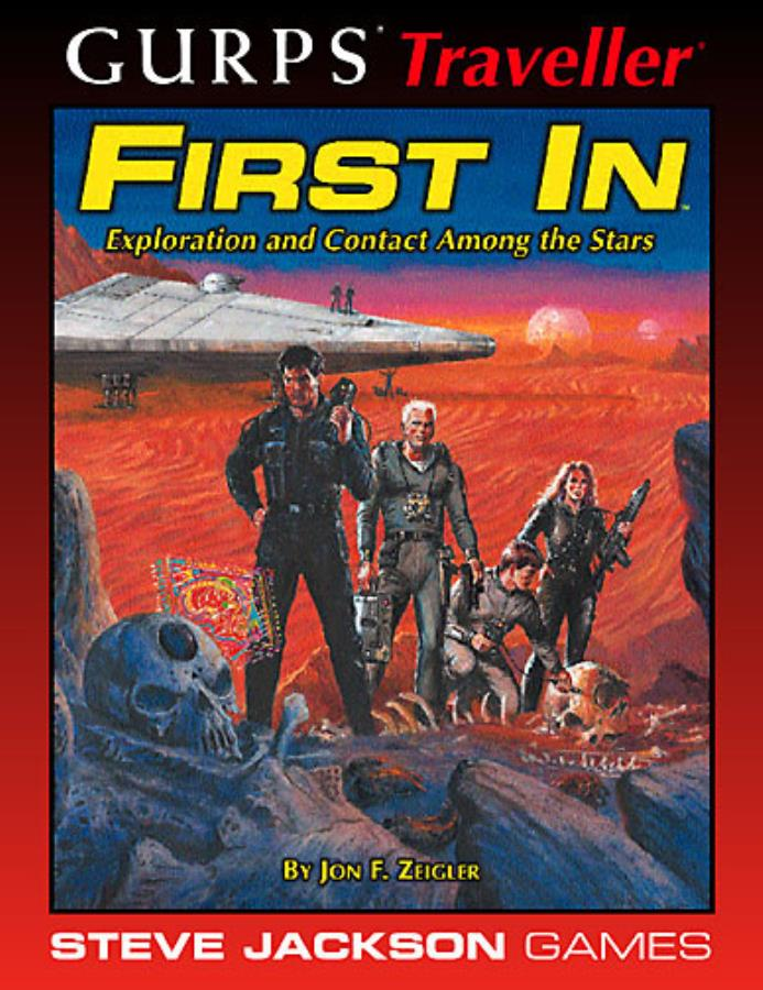 Gurps Traveller: First In - Used
