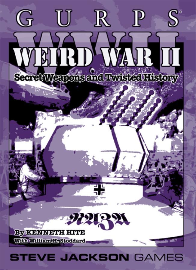 Gurps: Weird War II - Used