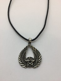 Star with Wings Necklace