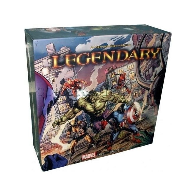 Legendary: A Marvel Deck Building Game - USED - By Seller No: 12677 Kathryn R Robertson