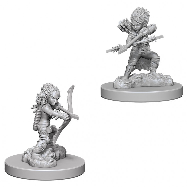Pathfinder Deep Cuts Unpainted Minis: Female Gnome Rogue W6
