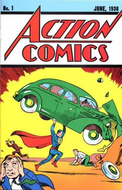 Action Comics (1938 Series) no. 1 - Used
