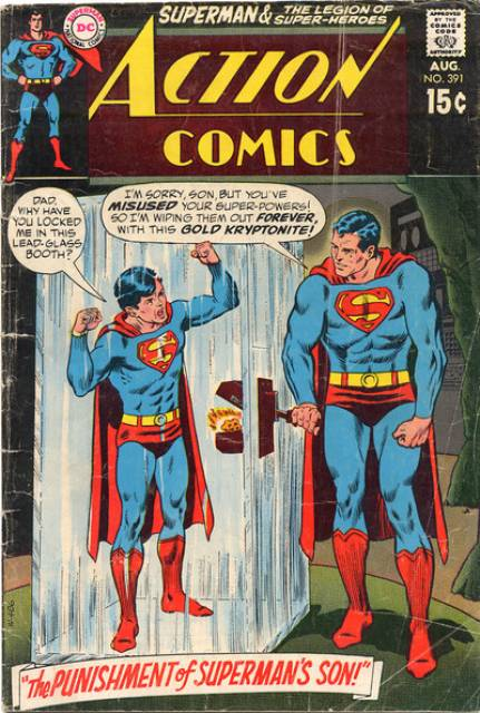 Action Comics (1938 Series) no. 391 - Used