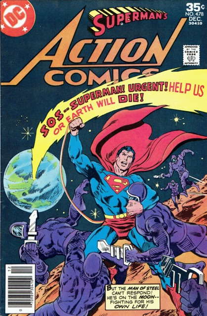 Action Comics (1938 Series) no. 478 - Used