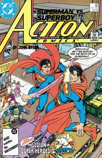 Action Comics (1938 Series) no. 591 - Used