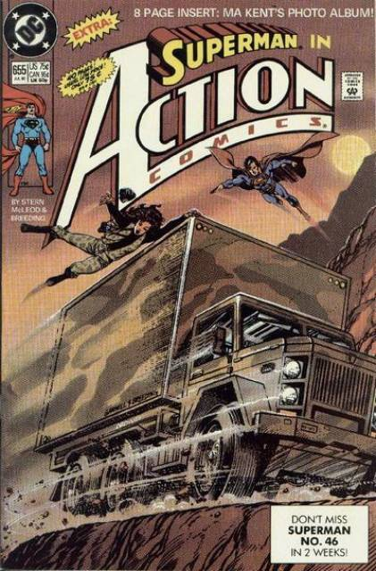 Action Comics (1938 Series) no. 655 - Used