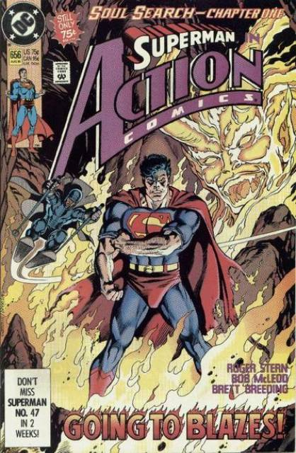 Action Comics (1938 Series) no. 656 - Used