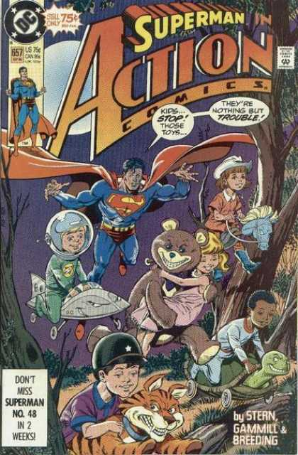 Action Comics (1938 Series) no. 657 - Used