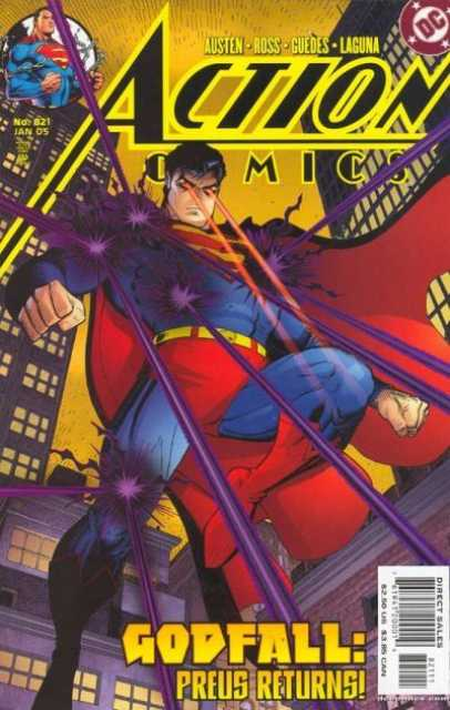 Action Comics (1938 Series) no. 821 - Used