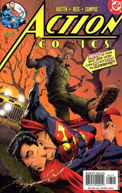 Action Comics (1938 Series) no. 823 - Used