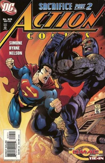 Action Comics (1938 Series) no. 829 - Used