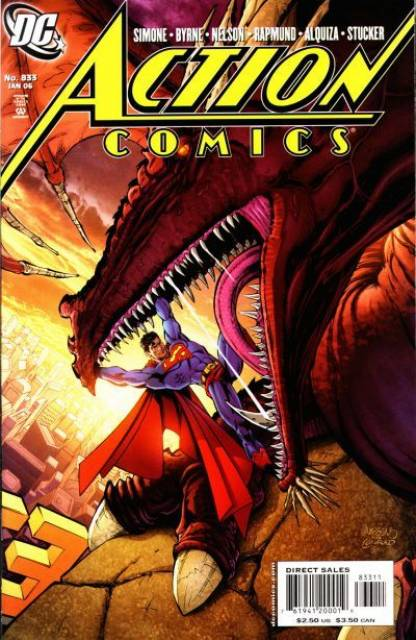 Action Comics (1938 Series) no. 833 - Used