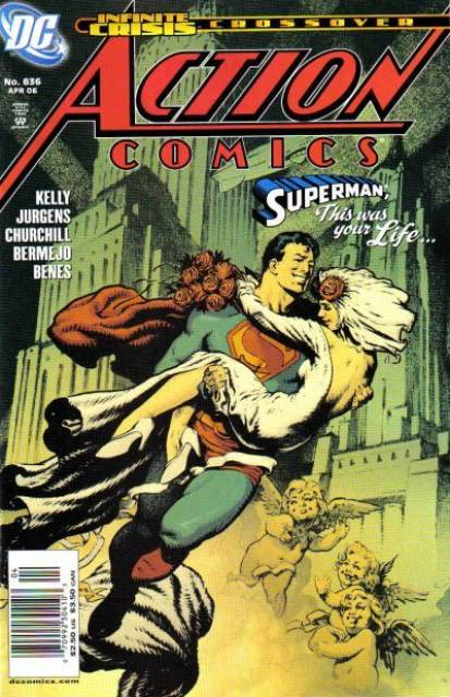 Action Comics (1938 Series) no. 836 - Used
