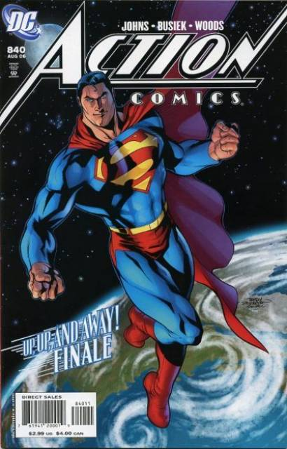 Action Comics (1938 Series) no. 840 - Used