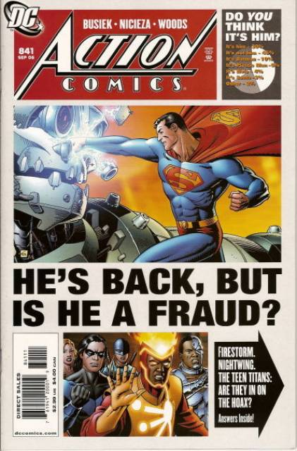 Action Comics (1938 Series) no. 841 - Used