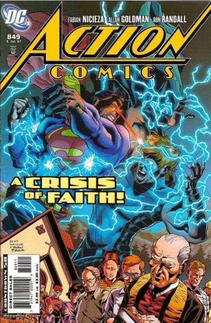 Action Comics (1938 Series) no. 849 - Used