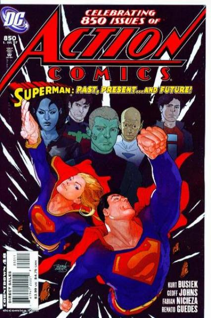 Action Comics (1938 Series) no. 850 - Used
