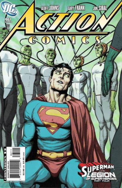 Action Comics (1938 Series) no. 861 - Used
