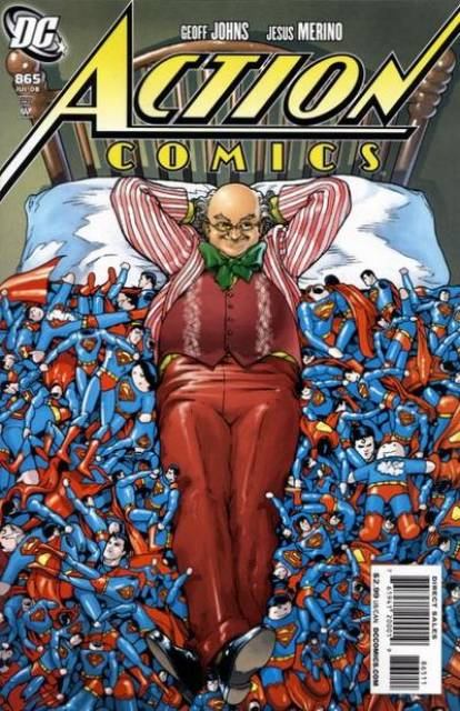 Action Comics (1938 Series) no. 865 - Used