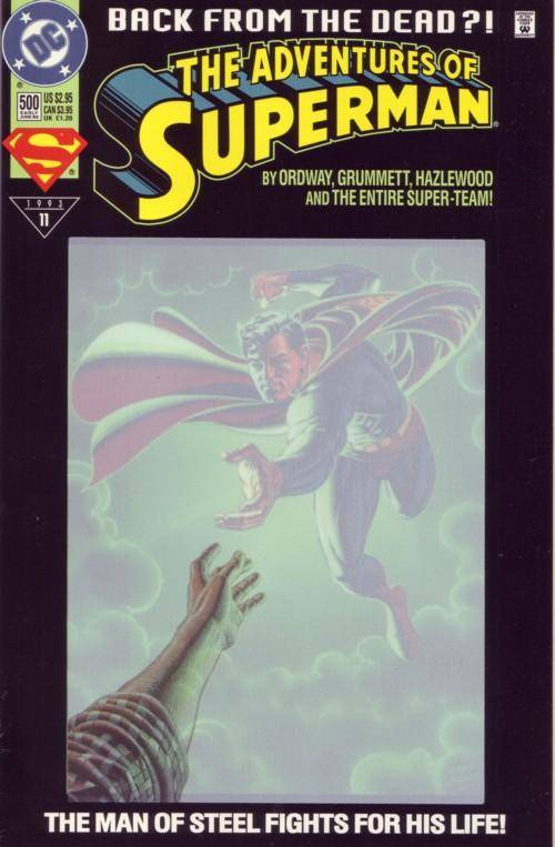 Superman (1939 Series) no. 500 (Variant b) - Used