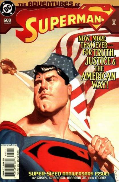 Superman (1939 Series) no. 600 - Used