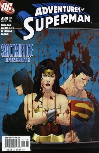 Superman (1939 Series) no. 643 - Used