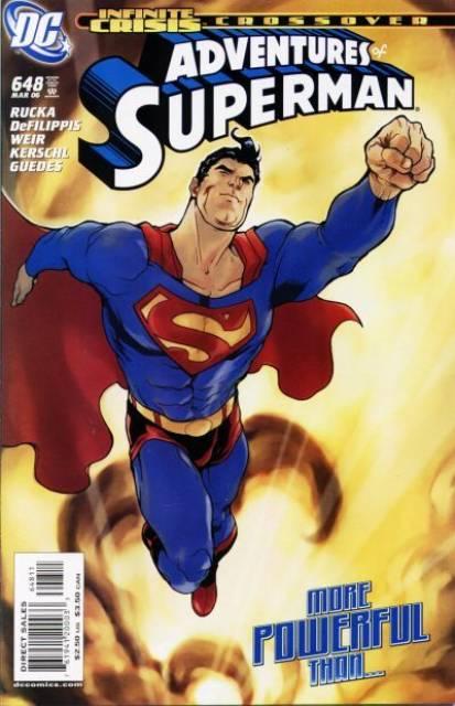 Superman (1939 Series) no. 648 - Used