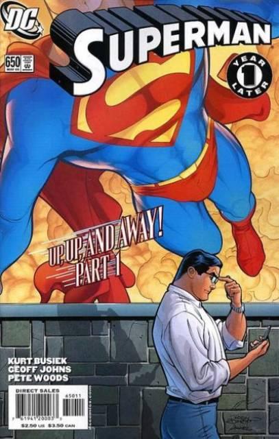 Superman (1939 Series) no. 650 - Used