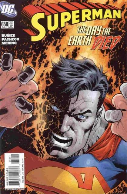 Superman (1939 Series) no. 658 - Used
