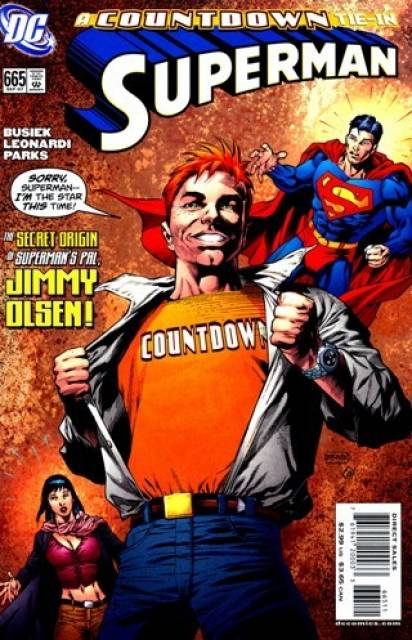 Superman (1939 Series) no. 665 - Used