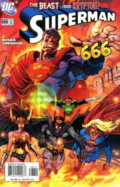 Superman (1939 Series) no. 666 - Used