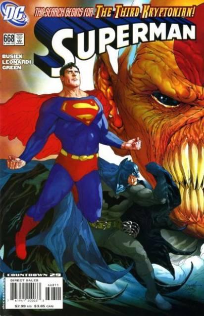 Superman (1939 Series) no. 668 - Used