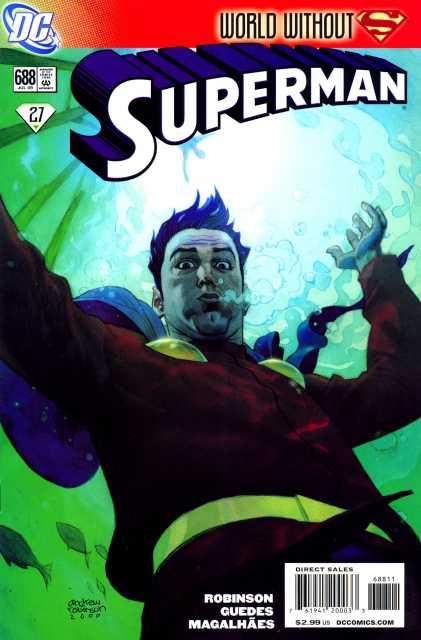 Superman (1939 Series) no. 688 - Used