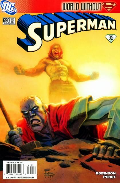 Superman (1939 Series) no. 690 - Used