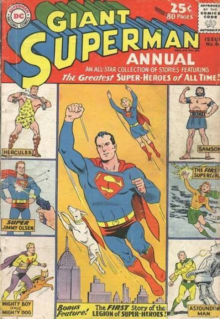 Superman (1939 Series) Annual no. 6 - Used