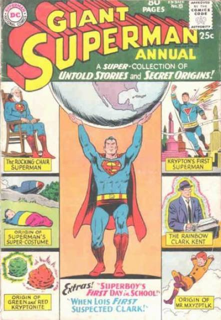 Superman (1939 Series) Annual no. 8 - Used