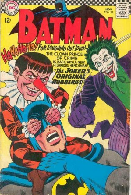 Batman (1940) no. 186 - Used