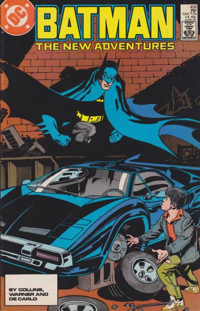 Batman (1940) no. 408 - Used
