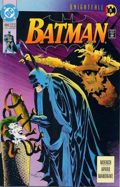 Batman (1940) no. 494 - Used