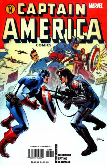 Captain America (1959) no. 563 [2005 no. 14] - Used