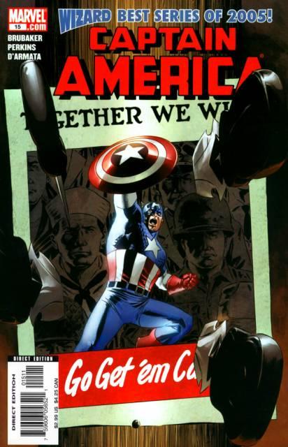 Captain America (1959) no. 564 [2005 no. 15] - Used