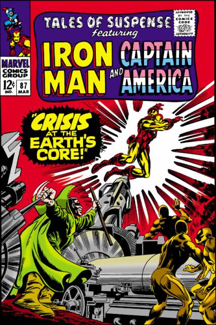 Captain America (1959) no. 87 [Tales Of Suspense] - Used