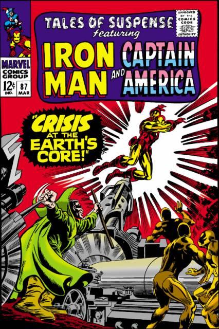 Captain America (1959) no. 87 [Tales Of Suspense] - Used