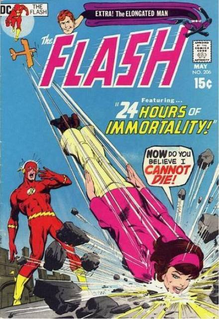 Flash (1940) no. 206 - Used