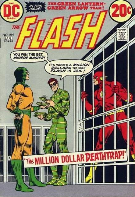 Flash (1940) no. 219 - Used